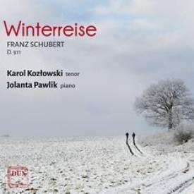 Franz Schubert Winterreise op. 89 D. 911<p></p>Karol Kozłowski – tenor, Jolanta Pawlik – fortepian<p></p>DUX 1259